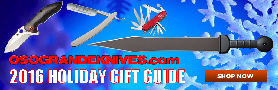 See OsoGrandeKnives 2016 Holiday Gift Guide for Knife Enthusiasts