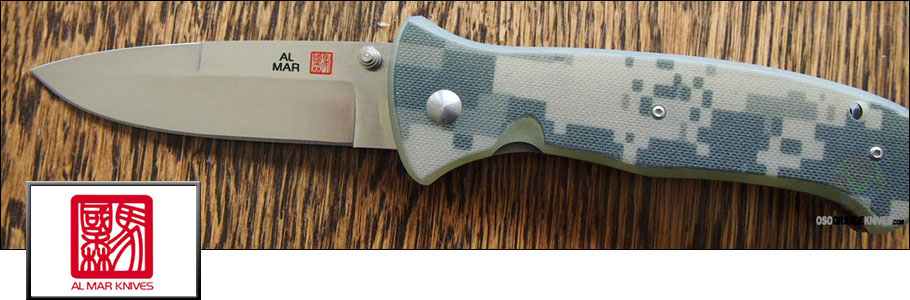 View the full line of Al Mar Knives at OsoGrandeKnives.com