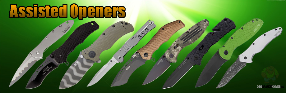 Shop from over 700 different assisted opening folders... All at unbeatable low prices!