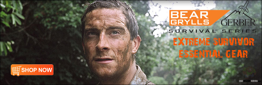 View the full line of Bear Grylls Survival Knives at OsoGrandeKnives.com