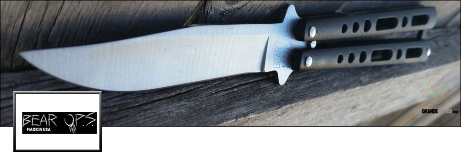 Shop the full line of Bear Ops Knives at OsoGrandeKnives.com