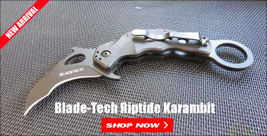 Blade-Tech Riptide Karambit On Sale at OsoGrandeKnives