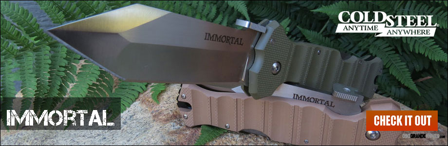 Buy the New Cold Steel Immortal at OsoGrandeKnives!