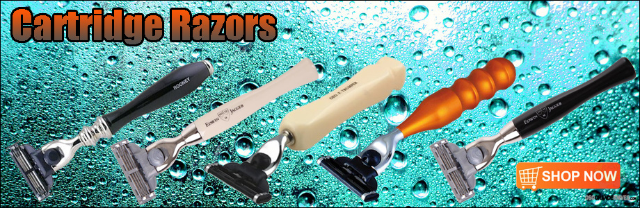 Get the performance and convenience of a modern blade system with classic razor styling.