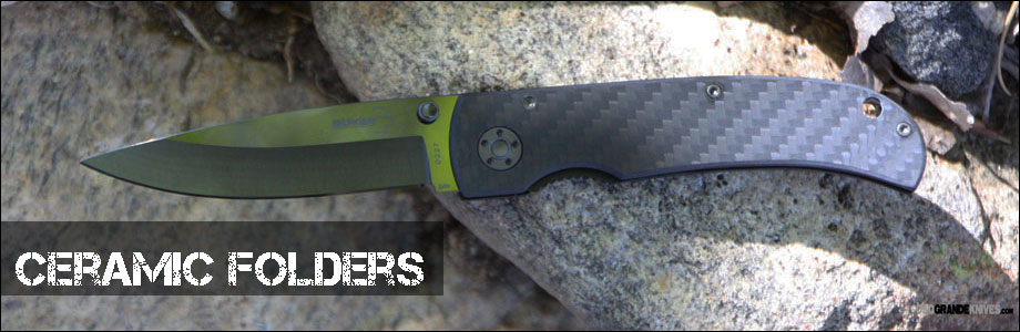 Shop the Best Deals on Ceramic Folding Knives at OsoGrandeKnives.com