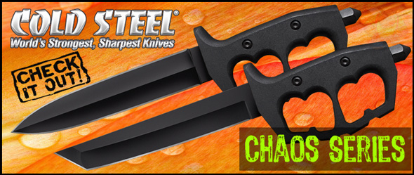 See the New Cold Steel Chaos Combat Knives!