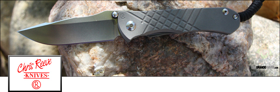 Shop the full line of Chris Reeve Knives at OsoGrandeKnives.com