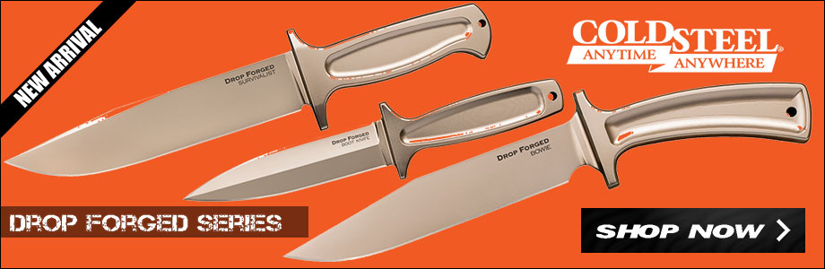 NEW Cold Steel Drop Forged Knives on Sale at OsoGrandeKnives!