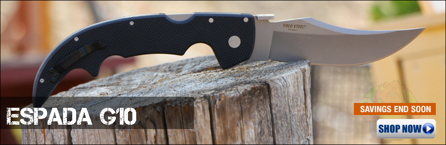 See the Cold Steel Espada Series