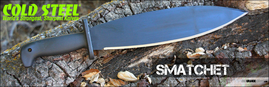 See the Cold Steel Smatchet Machete