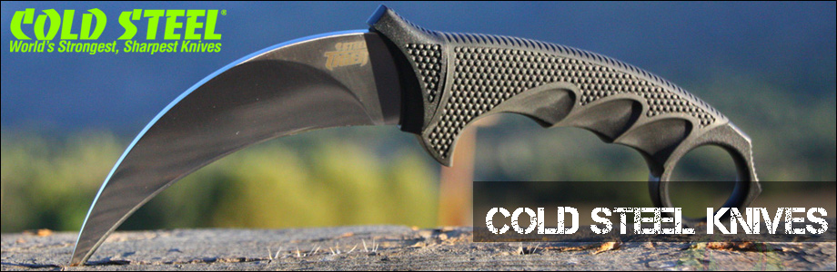 Buy Cold Steel Knives from OsoGrandeKnives.com - America's Cutlery Specialists. Lowest Price Guaranteed, Shop Now!