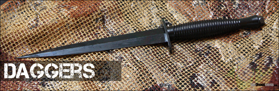 Oso Grande has the best selection of daggers on the web.