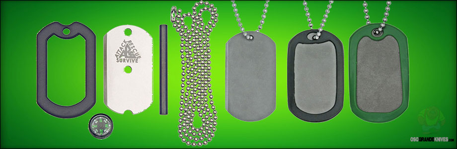 View the full line of the Original Dog Tag Knives at OsoGrandeKnives.com