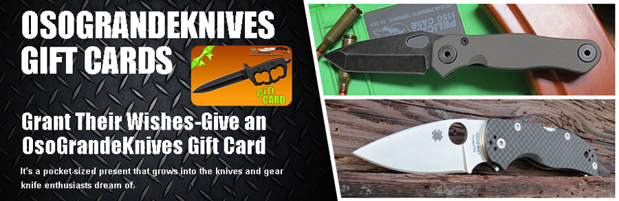 OsoGrandeKnives Gift Cards