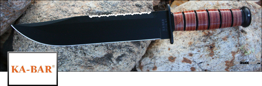 Shop the full line of Ka-Bar Knives at OsoGrandeKnives.com