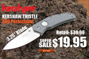 OsoGrandeKnives Heavy Metal Deal of the Week: Kershaw Thistle Folder