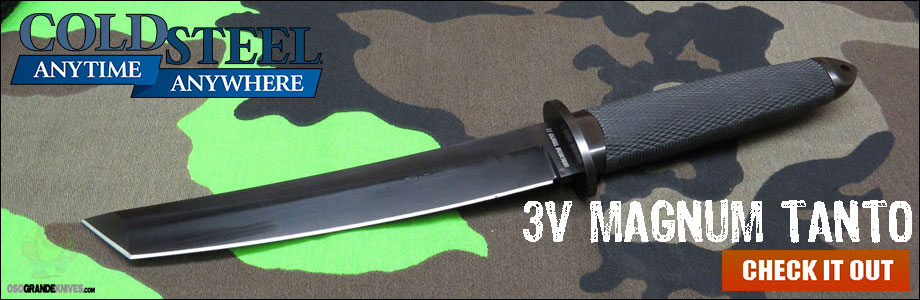 Checkout the New Cold Steel 3V Magnum Tanto!
