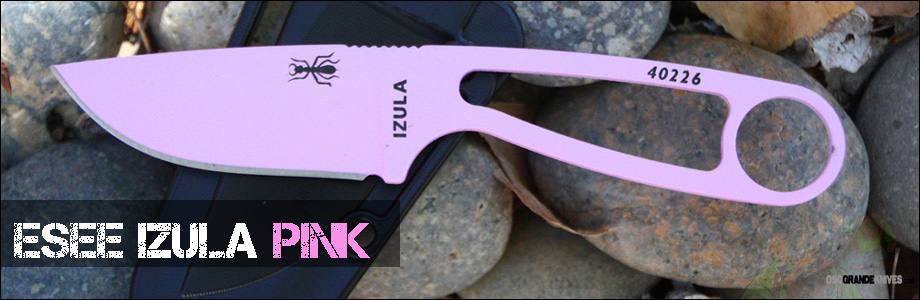 Get her the Pink Esee Izula and she will love you forever!