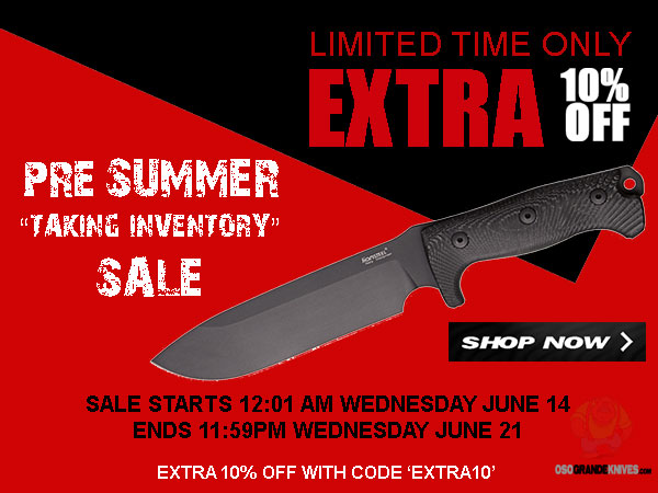 Take an EXTRA 10% OFF During The Summer Taking Inventory Sale