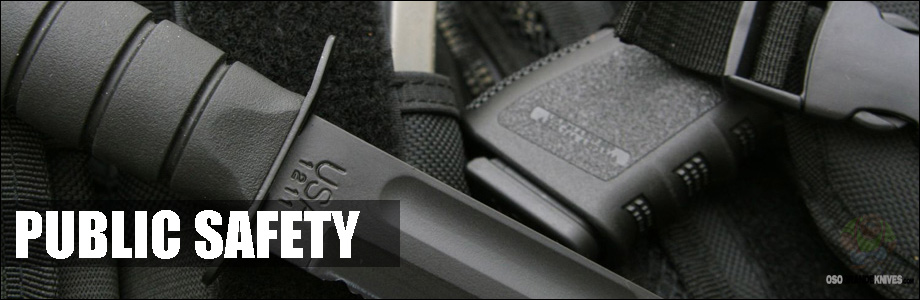 Buy Public Safety & Security Equipment at OsoGrandeKnives.com.  America's Cutlery Specialists.  Lowest Price Guaranteed, Shop Now!