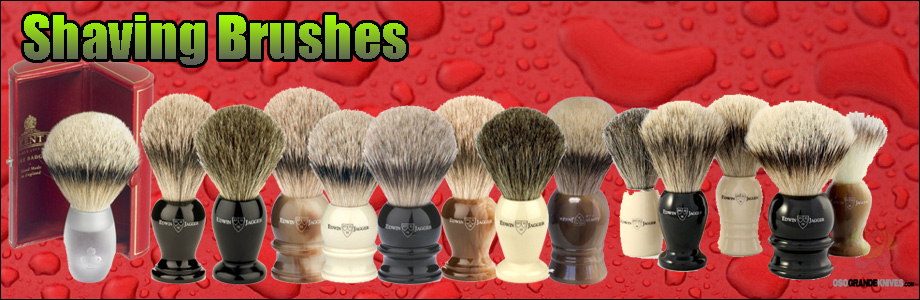 No gentleman should be without his shaving brush, at home or on his travels.