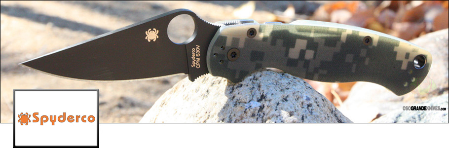 Shop the full line of Spyderco Knives at OsoGrandeKnives.com