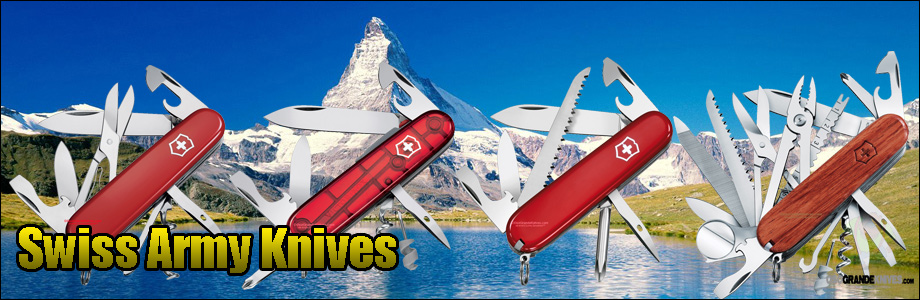 Shop the full line of Swiss Army Knives at OsoGrandeKnives.com