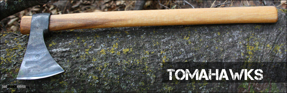 Shop Tomahawks at OsoGrandeKnives.com