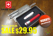 Victorinox Swiss Army Pioneer and Flashlight Combo Set