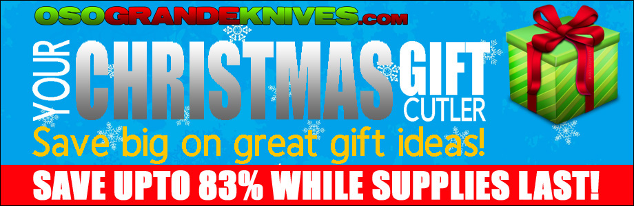 Save Upto 83% on select knives and gear!