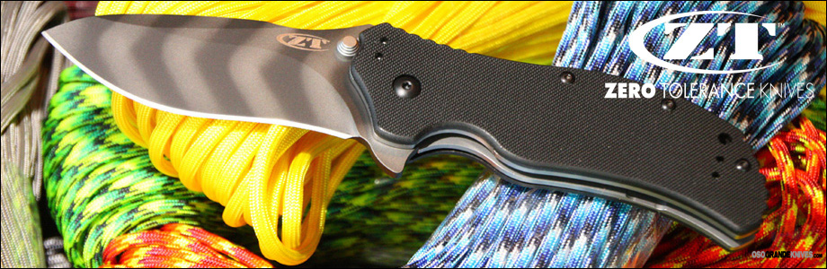 View the full line of Zero Tolerance ZT Knives at OsoGrandeKnives.com