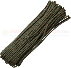 Wetland 550 Paracord (Type III Mil Spec 7 Strand 550 Lbs. Parachute Cord) 100 ft. Hank Made in USA RG1048H