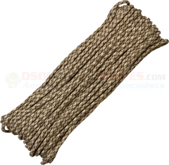 Rattler 550 Paracord (Type III Mil Spec 7 Strand 550 Lbs. Parachute Cord) 100 ft. Hank Made in USA RG1054H