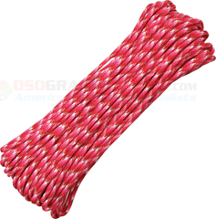 Love 550 Paracord (Type III Mil Spec 7 Strand 550 Lbs. Parachute Cord) 100 ft. Hank Made in USA RG1067H