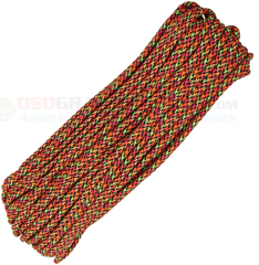 Cosmic 550 Paracord (Type III Mil Spec 7 Strand 550 Lbs. Parachute Cord) 100 ft. Hank Made in USA RG1086H