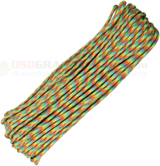Dragonfly 550 Paracord (Type III Mil Spec 7 Strand 550 Lbs. Parachute Cord) 100 ft. Hank Made in USA RG1092H