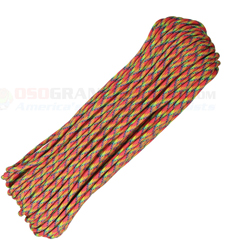Fairy Tale 550 Paracord (Type III Mil Spec 7 Strand 550 Lbs. Parachute Cord) 100 ft. Hank Made in USA RG1093H