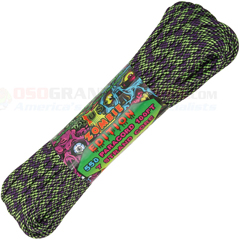 Dark Matter 550 Paracord (Type III Mil Spec 7 Strand 550 Lbs. Parachute Cord) 100 ft. Hank Made in USA RG1104H