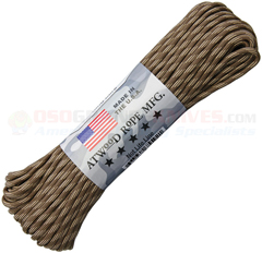 Quicksand 550 Paracord (Type III Mil Spec 7 Strand 550 Lbs. Parachute Cord) 100 ft. Hank Made in USA RG1245H