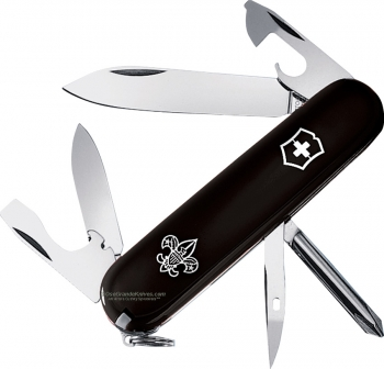Victorinox Swiss Army 55123 Tinker Boy Scout Model Black