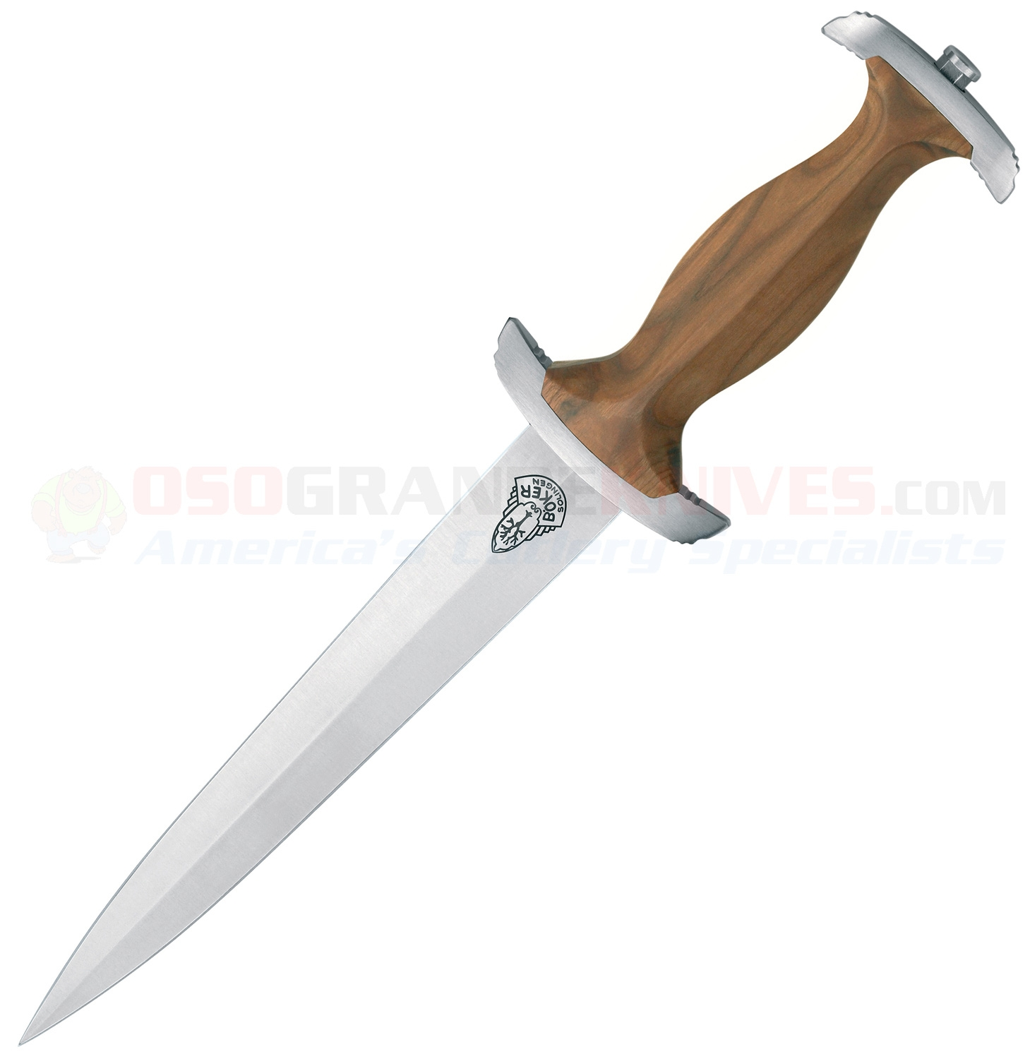 Boker 121550 Swiss Dagger, Cherry Wood Handle