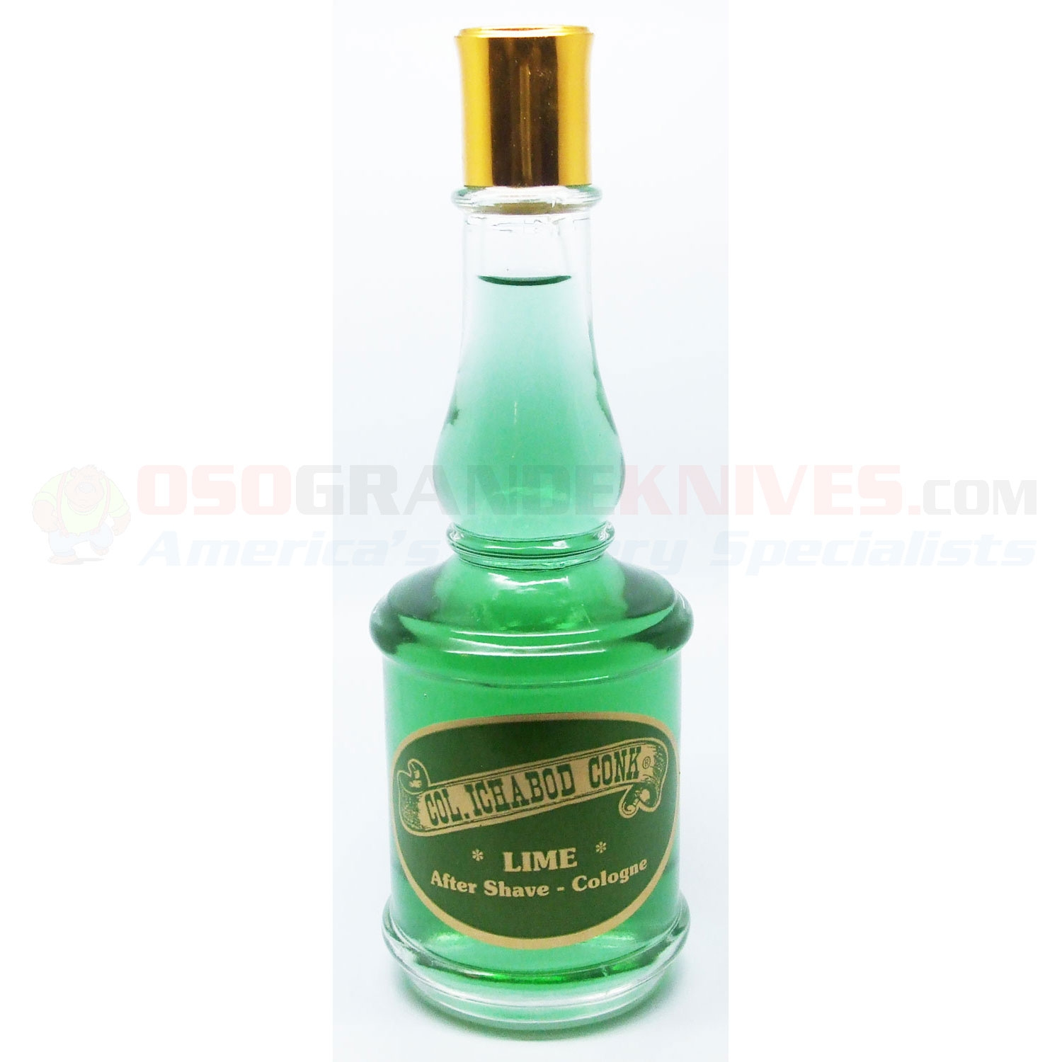 Colonel Conk Lime After Shave Cologne Osograndeknives