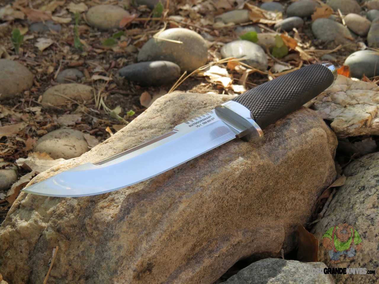 Cold Steel Outdoorsman Fixed Blade Knife Vg 1 San Mai Iii