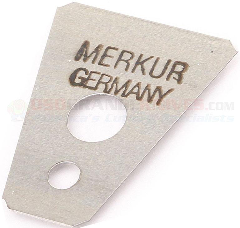Merkur 908 100 Moustache Amp Eyebrow Razor Blades Pack Of