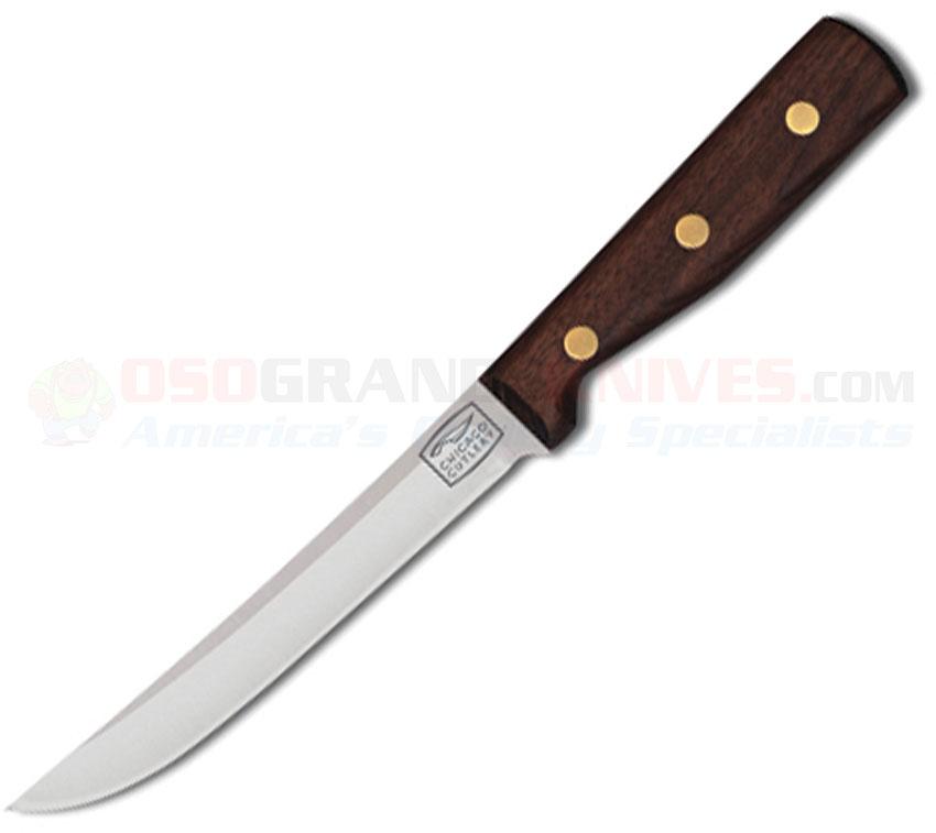 chicago cutlery 61sp utility knife 6 inch walnut handle