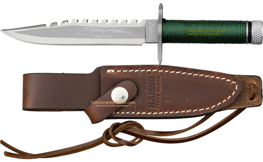 Rambo First Blood Miniature Knife, Signature Edition ...