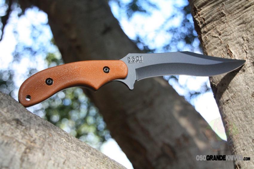 Kabar Adventure Baconmaker Fixed Blade Knife 5601