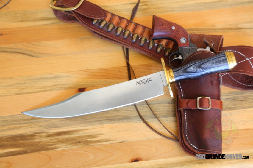 Cold Steel Natchez Bowie Knife Sk 5 Steel Fixed Blade