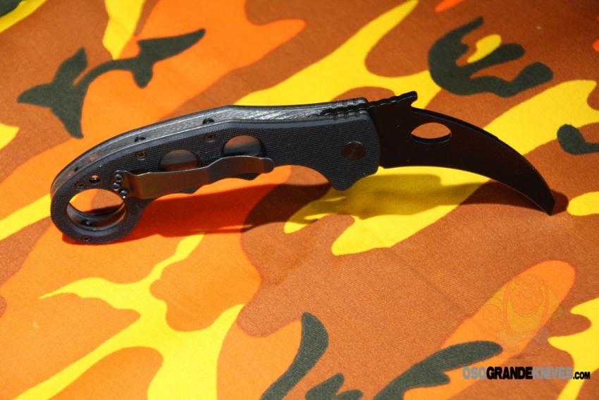 Emerson Super Karambit Knife Black Reinforced Blade