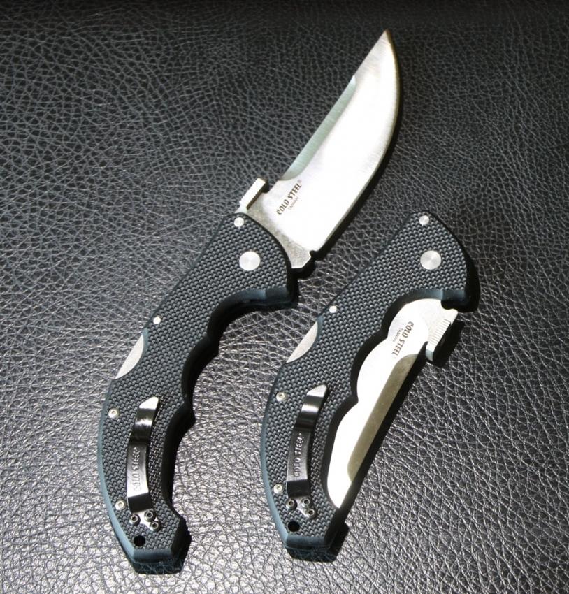 Gifts For Organizers >> Cold Steel Talwar Folding Knife, 4 Inch PlainEdge, G-10 Handles, 21TTL | OsoGrandeKnives